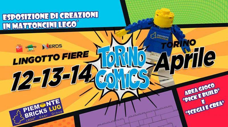 "Piemonte Bricks LUG a ""Torino Comics"""